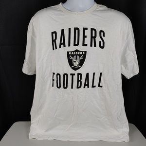NWOT NFL Team Apparel Raiders T-Shirt Size XL/TG